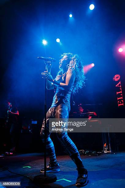 Ella Eyre performs on stage at O2 Academy during Live At Leeds music festival on May 3 2014 in Leeds United Kingdom