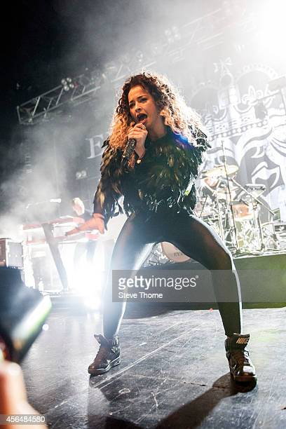 Ella Eyre performs on stage at The Institute on October 1 2014 in Birmingham United Kingdom