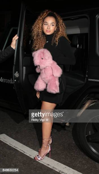 Ella Eyre seen at LFW s/s 2018 OffWhite x Mytheresacom intimate dinner at St John Bar Restaurant during London Fashion Week September 2017 on...