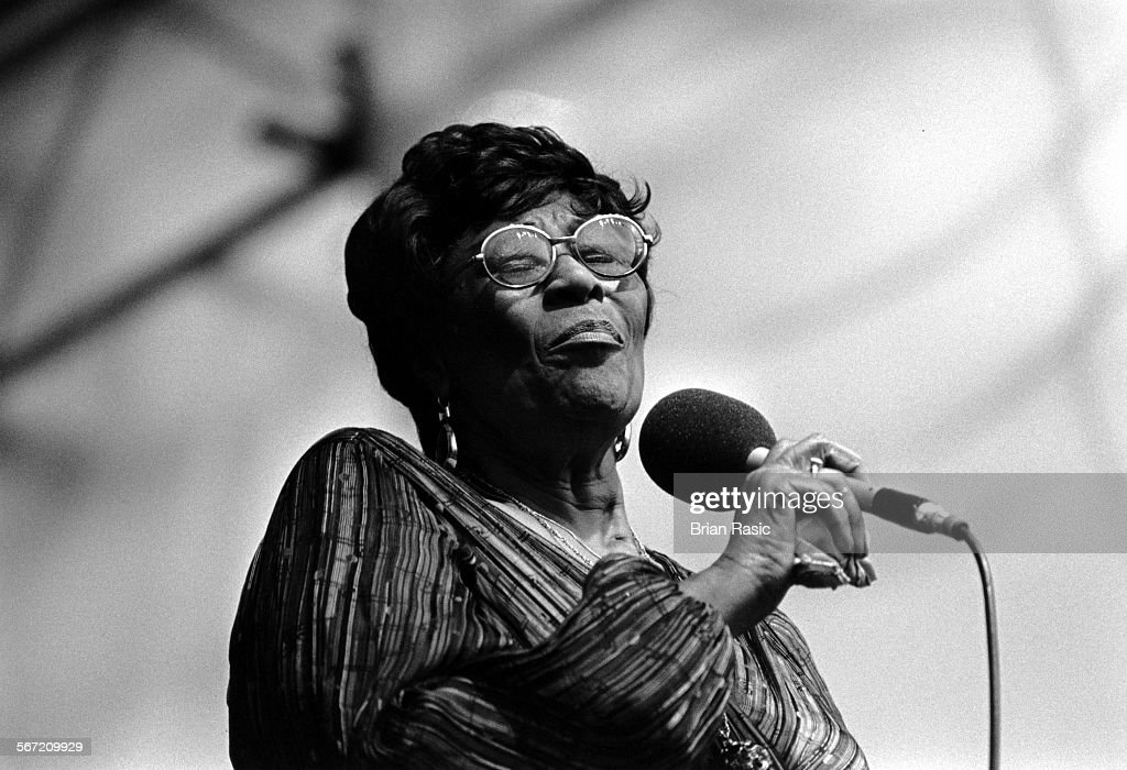 Ella Fitzgerald, Capital Jazz Festival, Knebworth - 1981 : News Photo