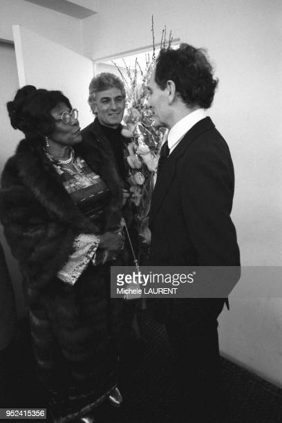 Ella Fitzgerald et Pierre Cardin