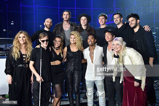 Ella Henderson Casey Harris Rachel Platten Tori Kelly Miguel Nate Ruess Elle King Sam Harris Hozier James Bay George Ezra Noah Feldshuh and Adam...