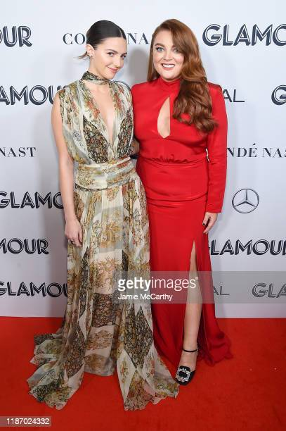 Ella Hunt and Samantha Barry attend the 2019 Glamour Women Of The Year Awards at Alice Tully Hall on November 11 2019 in New York City