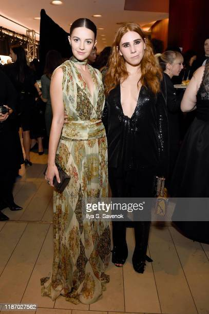 Ella Hunt and Zosia Mamet attend the 2019 Glamour Women Of The Year Awards at Alice Tully Hall on November 11 2019 in New York City Photo by Ilya S...