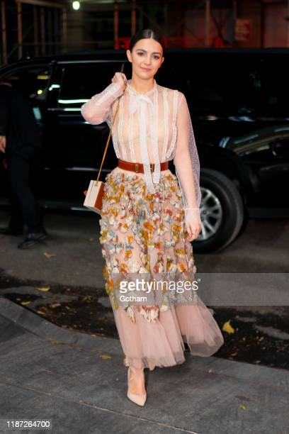Ella Hunt attends a screening for 'Dickinson' at Jazz at Lincoln Center on November 12 2019 in New York City
