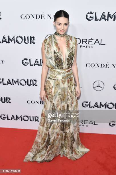 Ella Hunt attends the 2019 Glamour Women Of The Year Awards at Alice Tully Hall on November 11 2019 in New York City