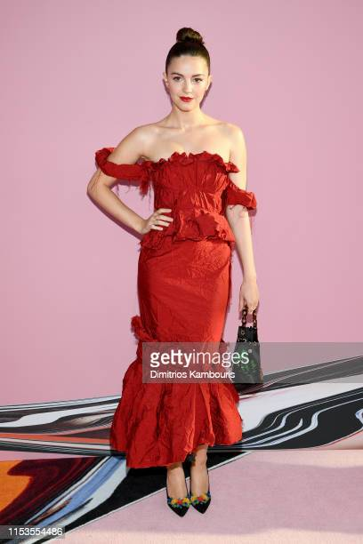 Ella Hunt attends the CFDA Fashion Awards at the Brooklyn Museum of Art on June 03 2019 in New York City