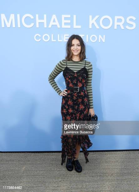 Ella Hunt attends the Michael Kors Collection Spring 2020 Runway Show on September 11 2019 in the Brooklyn borough of New York City