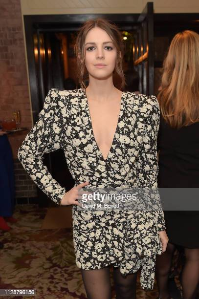 Ella Hunt attends the Netflix 2019 BAFTA AWARDS After Party at Chiltern Firehouse on February 10 2019 in London England