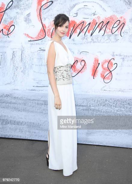 Ella Hunt attends The Serpentine Summer Party at The Serpentine Gallery on June 19 2018 in London England