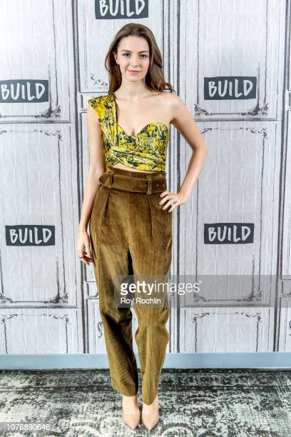 Ella Hunt discusses Anna and the Apocalypse with the Build Series at Build Studio on December 03 2018 in New York City
