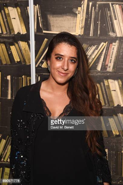 Ella Jade attends a private view of 'X' the first solo exhibition from British artist Chemical X at Exposure Gallery on May 31 2017 in London England
