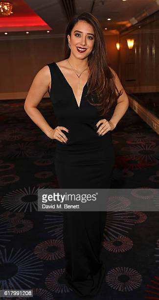 Ella Jade attends 'An Evening With The Stars' charity gala in aid of Save The Children at The Grosvenor House Hotel on October 25 2016 in London...