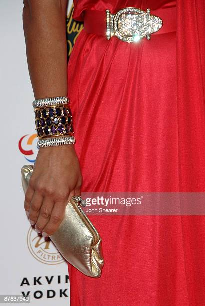 Ella Krasner attends the Akvinta Presents 'A Night of Hollywood Domino' at The House at Cannes during the 62nd Annual Cannes Film Festival on May 18...