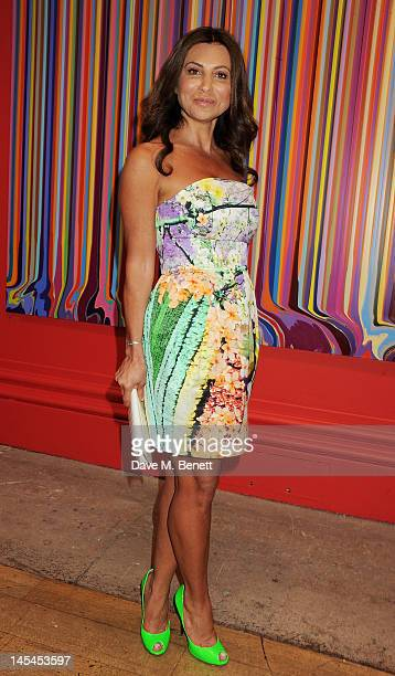 Ella Krasner attends the Royal Academy of Arts Summer Exhibition Preview Party at Royal Academy of Arts on May 30 2012 in London England