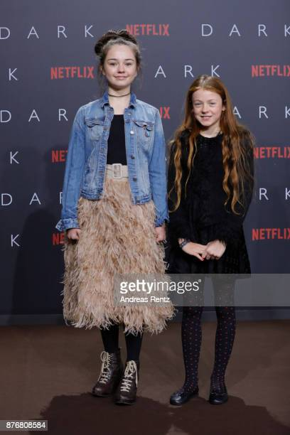 Ella Lee and guest attend the premiere of the first German Netflix series 'Dark' at Zoo Palast on November 20 2017 in Berlin Germany