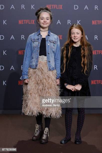 Ella Lee attends the premiere of the first German Netflix series 'Dark' at Zoo Palast on November 20 2017 in Berlin Germany