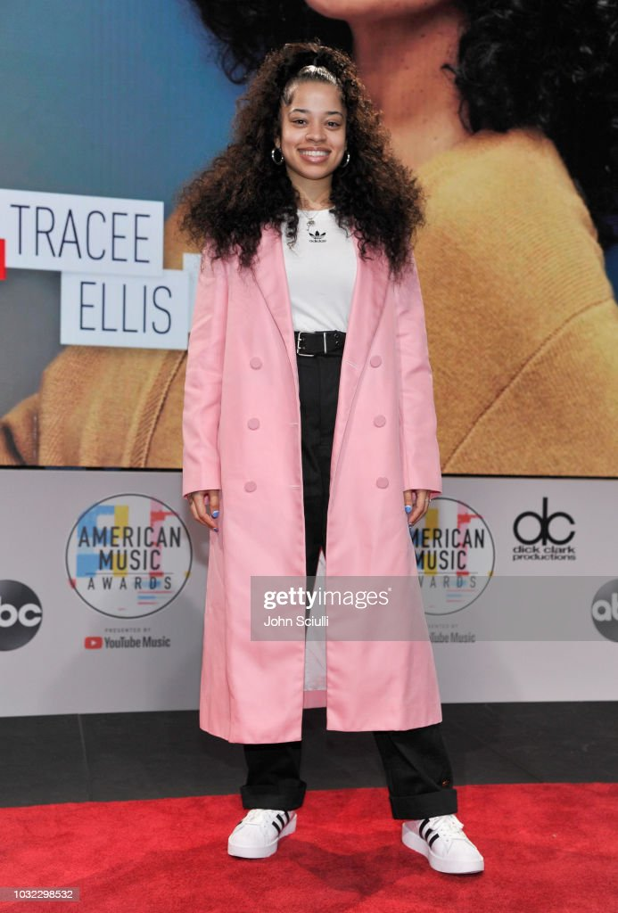 Ella Mai attends The '2018 American Music Awards' Nominations at YouTube Space LA on September 12, 2018 in Los Angeles, California.