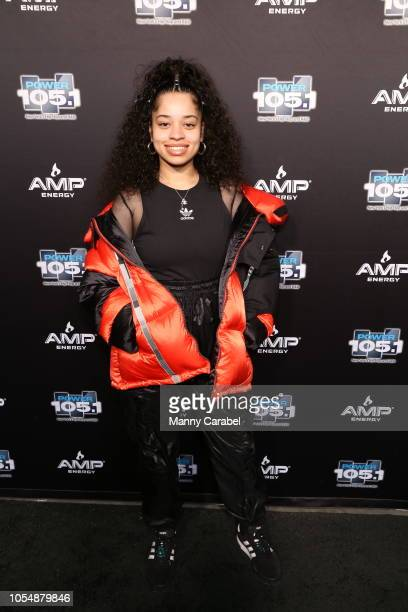 Ella Mai attends the 2018 Power 1051's Powerhouse NYC at Prudential Center on October 28 2018 in Newark New Jersey