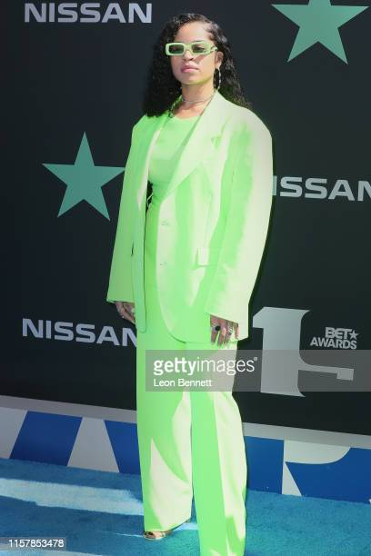 Ella Mai attends the 2019 BET Awards on June 23 2019 in Los Angeles California