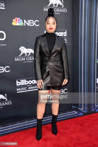 Ella Mai attends the 2019 Billboard Music Awards at MGM Grand Garden Arena on May 01 2019 in Las Vegas Nevada