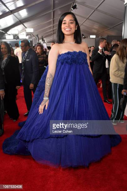 Ella Mai attends the 61st Annual GRAMMY Awards at Staples Center on February 10 2019 in Los Angeles California