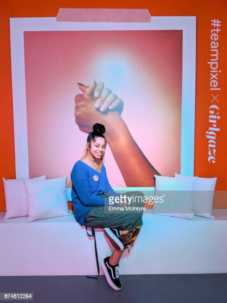 Ella Mai attends the #TEAMPIXEL x GIRLGAZE launch event hosted by Google and Amanda De Cadenet on November 15 2017 in Los Angeles California