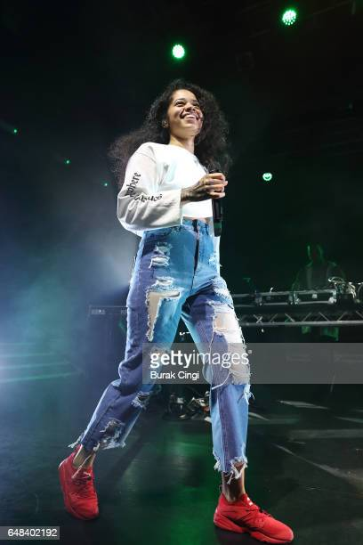 Ella Mai performs at KOKO on March 5 2017 in London England