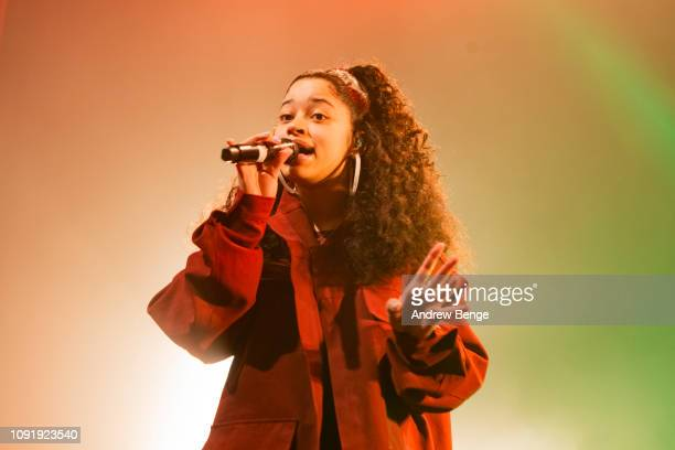 Ella Mai performs live at The O2 Ritz Manchester on January 09 2019 in Manchester England