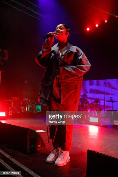 Ella Mai performs onstage at O2 Shepherd's Bush Empire on January 11 2019 in London England