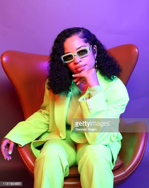 Ella Mai poses for a portrait during the BET Awards 2019 at Microsoft Theater on June 23 2019 in Los Angeles California