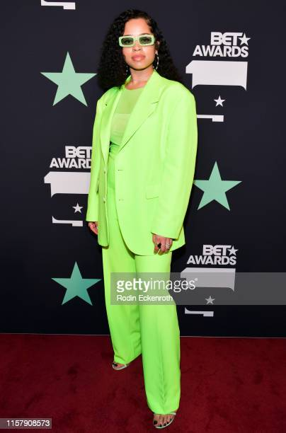Ella Mai poses for portrait at the 2019 BET Awards on June 23 2019 in Los Angeles California