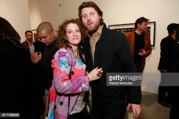 Ella Manor and Casey Kelbaugh attend ALBERT WATSON Artist Reception at Hasted Kraeutler Gallery on October 21 2010 in New York City