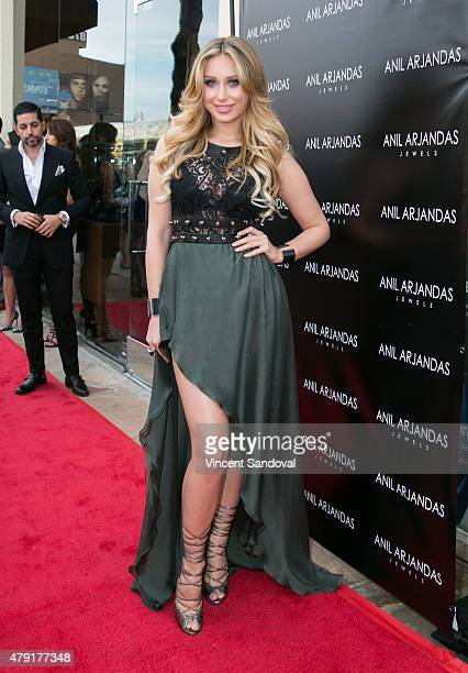572ed3c35b3535 Ella Mois attends the grand opening of Anil Arjandas Jewels Los Angeles  Boutique on July 1