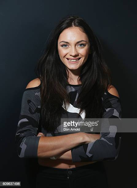 Ella Nelson poses during the Puma Flagship store launch at Westfield Chatswood on September 22 2016 in Sydney Australia