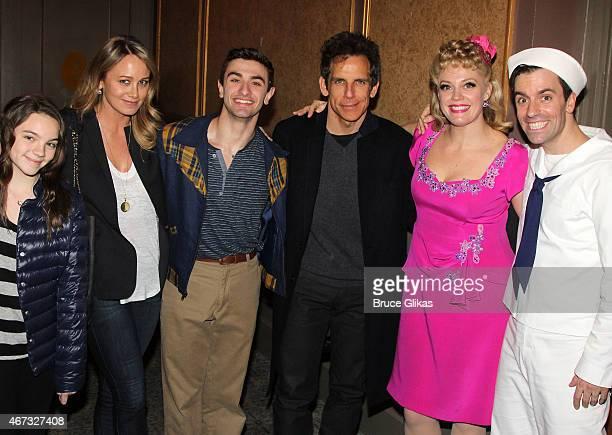 Ella Olivia Stiller mother Christine Taylor Season 11 Winner from So You Think You Can Dance Ricky Ubeda Ben Stiller Elizabeth Stanley and Clyde...