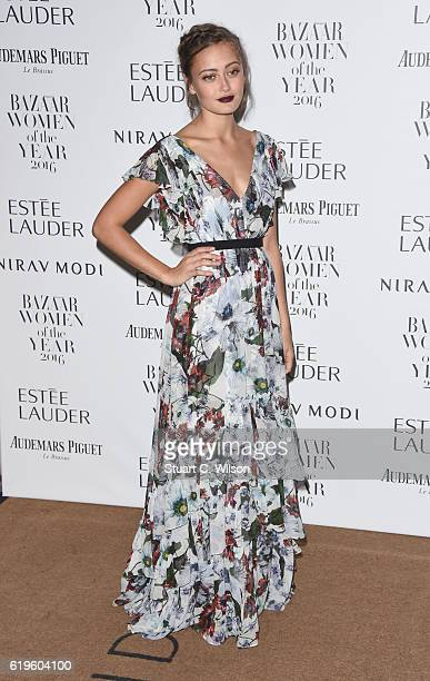 Ella Purnell attends Harper's Bazaar Women Of The Year Awards at Claridge's Hotel on October 31 2016 in London England