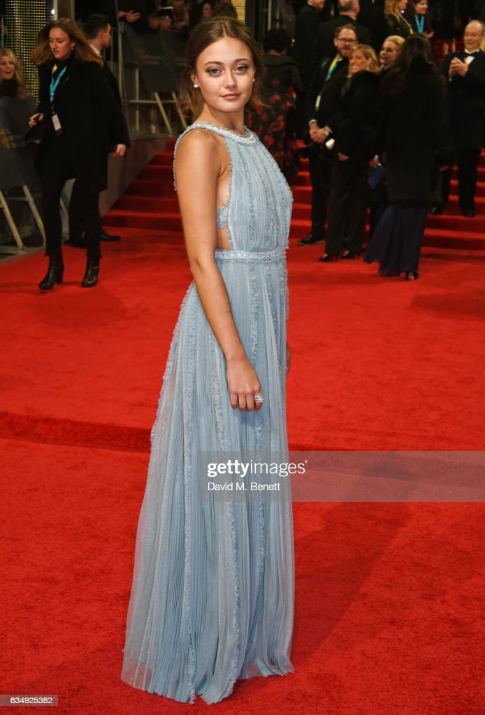 Ella Purnell attends the 70th EE British Academy Film Awards (BAFTA) at Royal Albert Hall on February 12, 2017 in London, England.