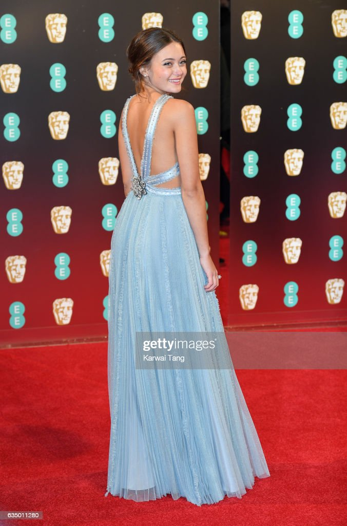 Ella Purnell attends the 70th EE British Academy Film Awards (BAFTA) at the Royal Albert Hall on February 12, 2017 in London, England.