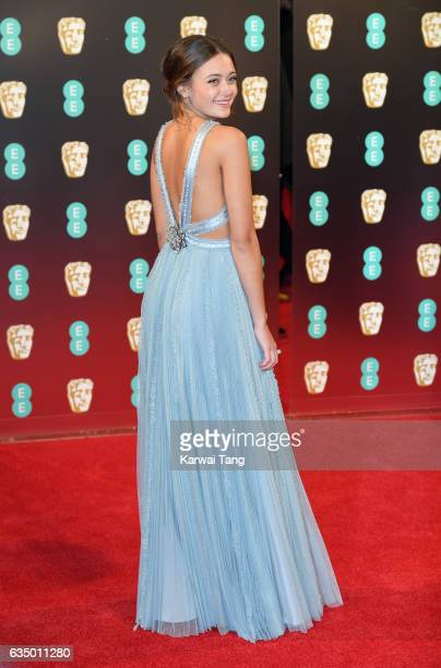 Ella Purnell attends the 70th EE British Academy Film Awards at the Royal Albert Hall on February 12 2017 in London England