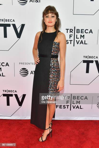 Ella Purnell attends the screeing of Sweetbitter during the 2018 Tribeca Film Festival at SVA Theatre on April 26 2018 in New York City