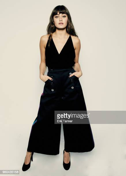 Ella Purnell of the film Sweet Bitter poses for a portrait during the 2018 Tribeca Film Festival at Spring Studio on April 23 2018 in New York City