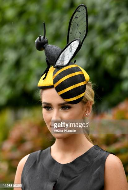 Ella Reese attends day one of Royal Ascot on June 18, 2019 in Ascot, England.