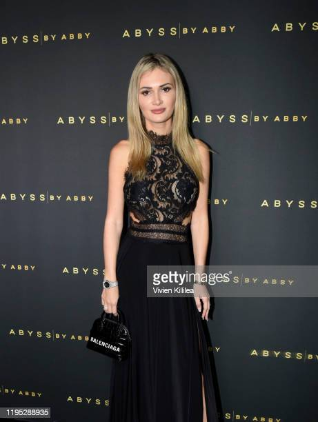 Ella Rose attends Abyss By Abby Arabian Nights Collection Launch Party at Casita Hollywood on January 21 2020 in Los Angeles California