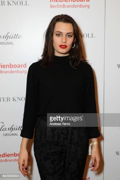 Ella Rumpf attends the Medienboard BerlinBrandenburg Reception sponsored by Glashuette Original on February 9 2017 in Berlin Germany