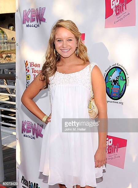 Ella Sinise attends Jillian Clare's 16th Birthday Party aboard the Harbor Breeze Yacht 'The Christopher' at Rainbow Harbor on July 25 2008 in Long...