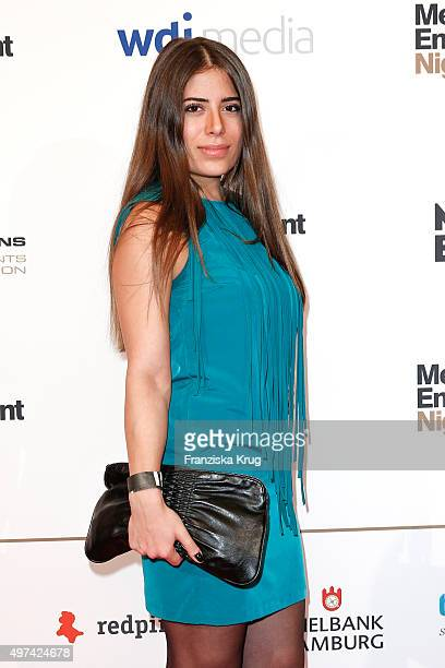 Ella Tas attends the Media Entertainment Night 2015 on November 16 2015 in Hamburg Germany