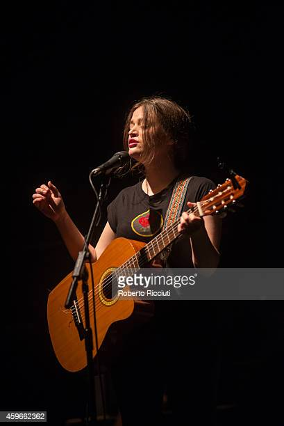 Ella The Bird performs on stage at Queens Hall on November 27 2014 in Edinburgh United Kingdom