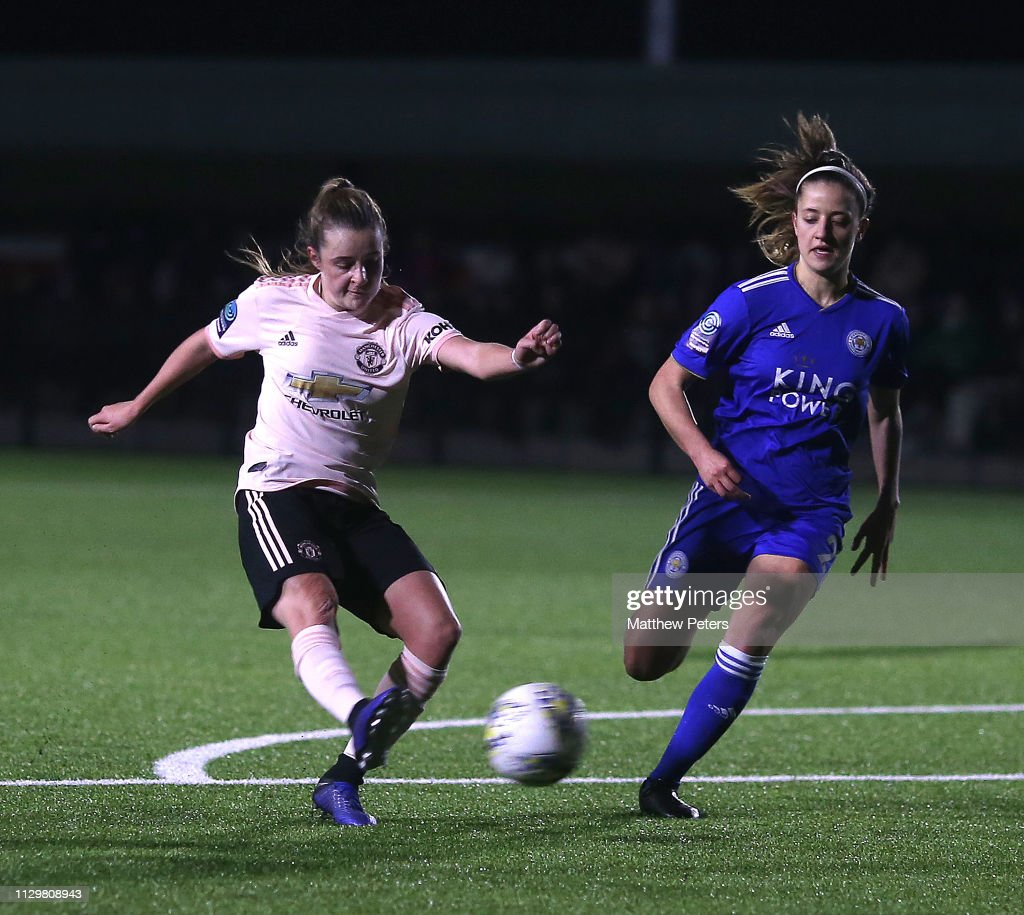 GBR: Leicester City Women v Manchester United Women - FA Women's Championship
