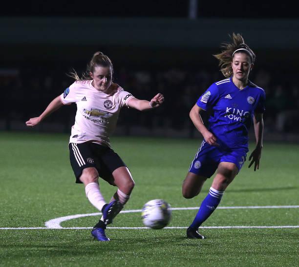 GBR: Leicester City Women v Manchester United Women - FA Women's Championship
